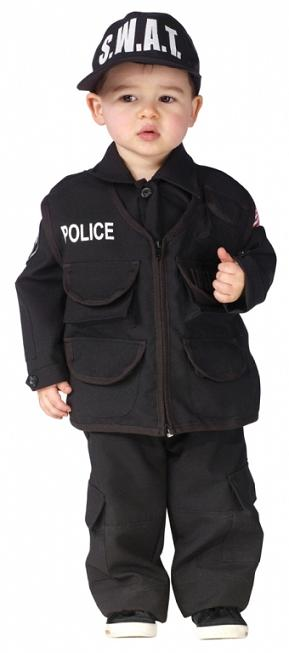 Toddler Authentic S.W.A.T. Costume