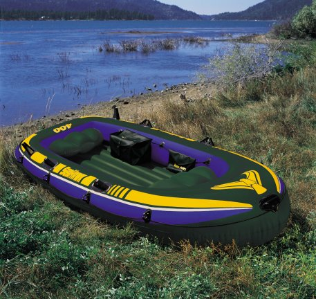Seahawk 4 Inflatable Boat Set