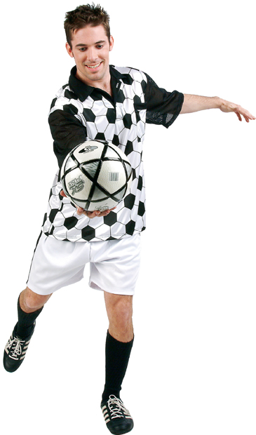 Adult Soccer Player Costume