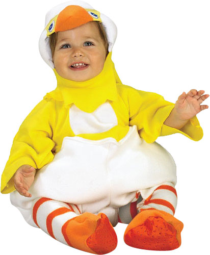 Baby Hatching Chicken Costume