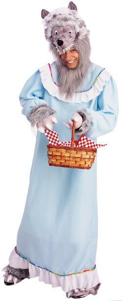 Adult Granny Wolf Costume
