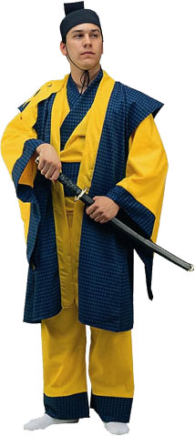 Adult Samurai Warrior Costume