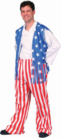 Men's American Flag Costume