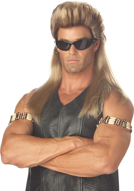 Adult Dog The Bounty Hunter Costume Wig