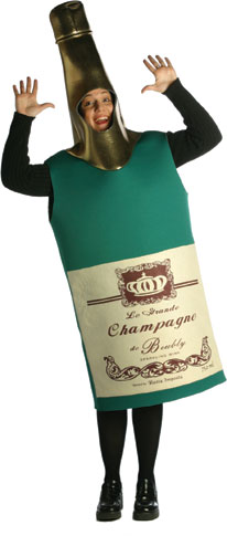Adult Champagne Bottle Costume