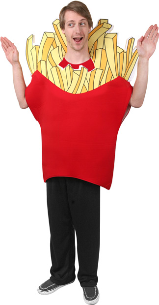 Adult French Fry Costume