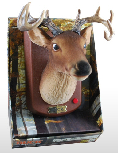 Buck the Animated Deerhead Wall Trophy