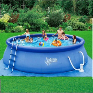 "18' x 48"" Inflatable Quick Set Pool Set"