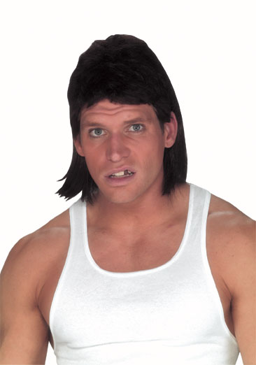 Dark Brown Mullet Wig