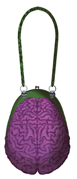 Zombie Brains Purse