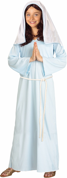 Child's Virgin Mary Biblical Costume