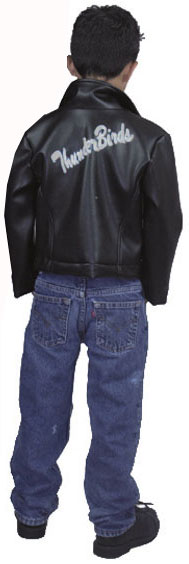 Child's 50s Greaser Jacket Costume