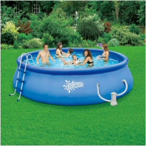 "15' x 48"" Inflatable Quick Set Pool Set"