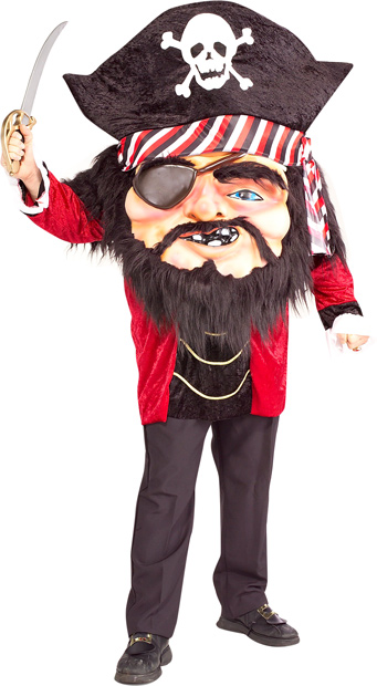 Funny Oversized Pirate Costume