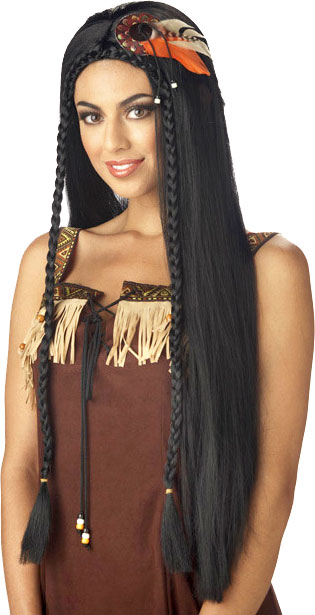 Woman's Sexy Indian Princess Wig