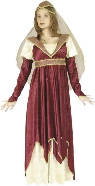 Adult Maiden Of Verona Costume