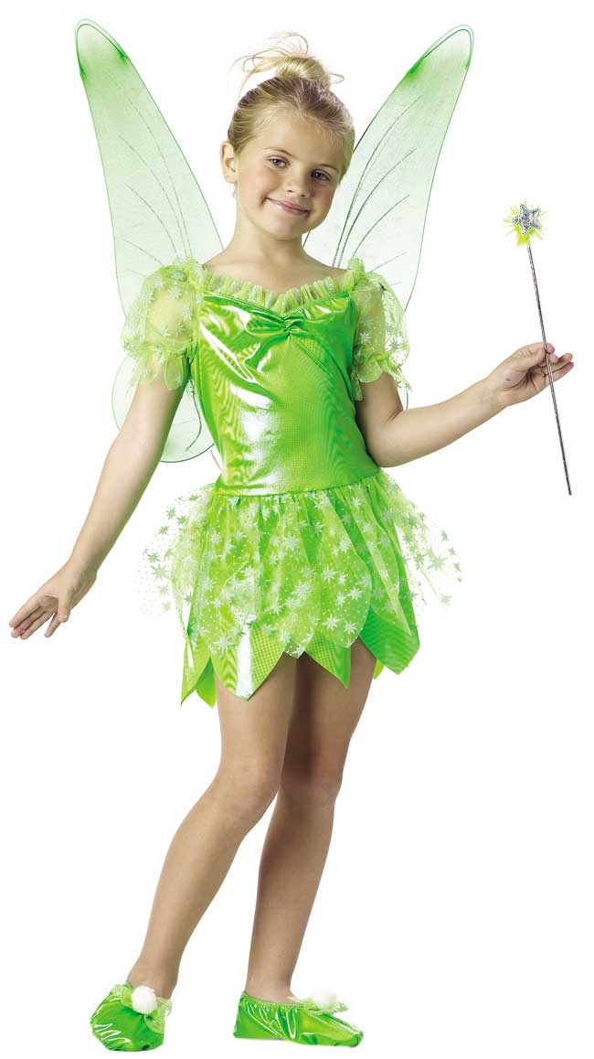 Childu0027s Tinkerbell Fairy Costume  sc 1 st  Brands On Sale : tinkerbell costumes for teens  - Germanpascual.Com