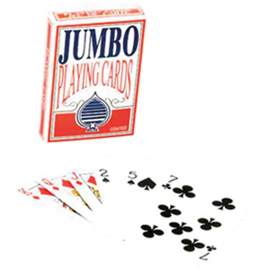 Jumbo Sized Playing Cards