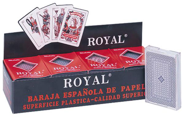 12 Decks of Spanish Style Plastic Playing Cards