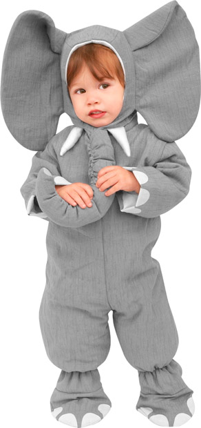 Toddler Heirloom Elephant Costume