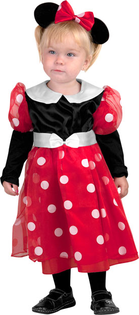 Deluxe Toddler Minnie Mouse Costume