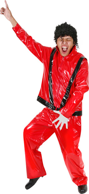 Adult Thriller Pop Star Costume