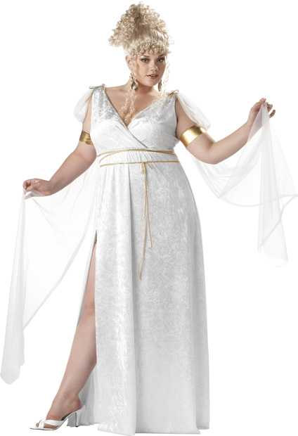 Woman's Plus Size Athenian Goddess Costume