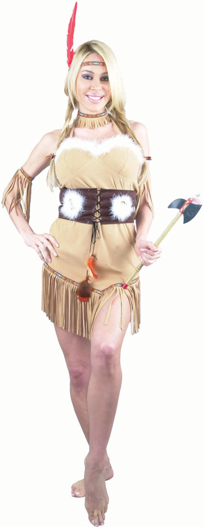 Sexy Tan Indian Princess Costume