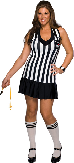 Plus Size Sexy Foul Play Costume