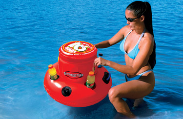 Large 16 Quart Floating Cooler