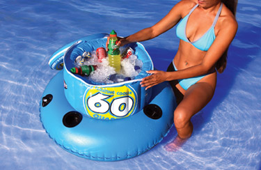 Super Large 60 Quart Floating Cooler