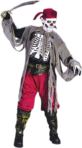 Childu0027s Skeleton Pirate Costume  sc 1 st  Brands On Sale & Ghost Pirate Costumes | Pirate Costumes | brandsonsale.com