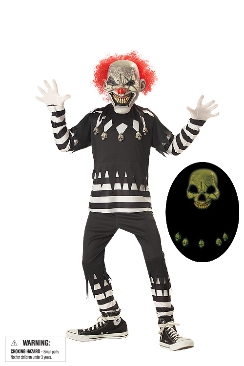 Child's Psycho Clown Costume
