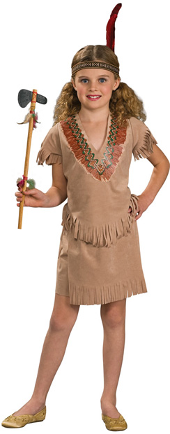 Child's Indian Girl Costume