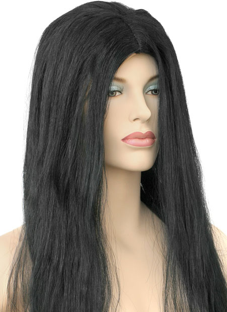Adult Black Witch Wig