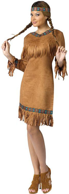 Adult Native American Cutie Costume