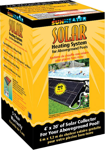 Above Ground Pool Solar Heater
