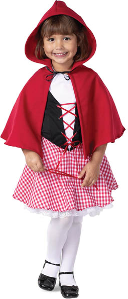 Deluxe Child's Little Red Riding Hood Costume