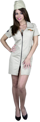 Women's Sexy Air Force Costume
