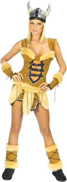 Women's Sexy Viking Vixen Costume