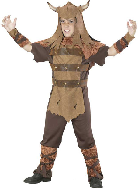 Child's Barbarian Guy Costume
