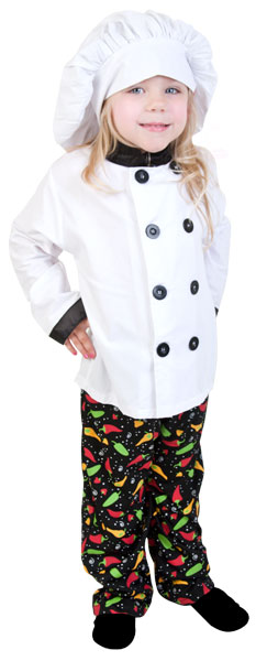 Toddler Prep Chef Costume