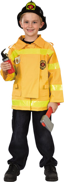 Child's Value Firefighter Costume