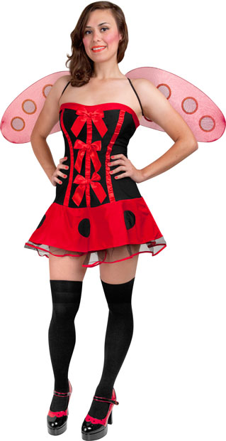 Adult Sexy Lady Bug Costume
