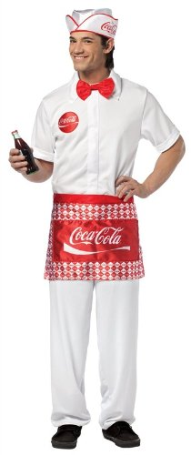 Mens Coca-Cola Waiter Costume