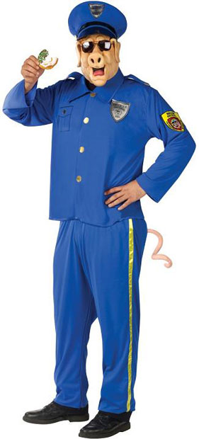 Officer McBacon Funny Police Costume