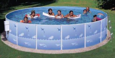 Heritage Fun N Sun Club 15 x 42 Pool Set