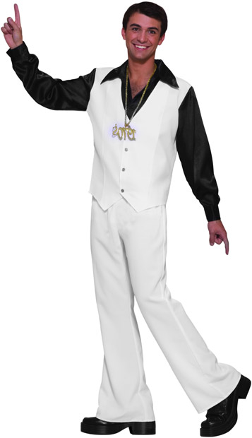 Adult Disco Staying Alive Costume