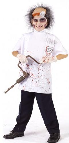 Child's Dr. Killer Driller Costume