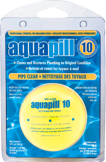 AquaPill Pool Pipe Clear Pill